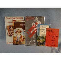 4 Calamity Jane books: Foote, Aikman