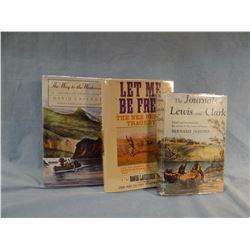 3 books: Devoto, Lavender