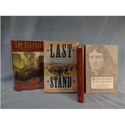 4 books: Punke, Poston, ronan