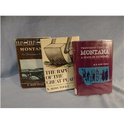 3 books by Ross Toole