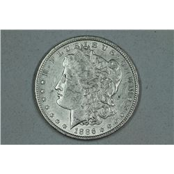 1886 O Morgan, about AU 55