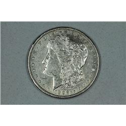 1896 O Morgan, about AU58