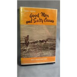 2 books: TREASURES FROM BILL'S WARBAG,  G/G slight water damage, 2006   THEY WERE GOOD AND SALTY CUS