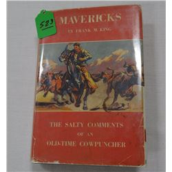 King, Frank M. MAVERICK, G/Fair Limited #229/350, signed and inscribed, Trails End 1947