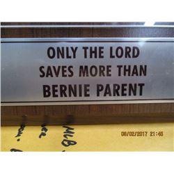 Time Magazine autographed Bernie Parent cover