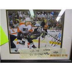 Dave Schultz & Brayden Shenn autographed picture