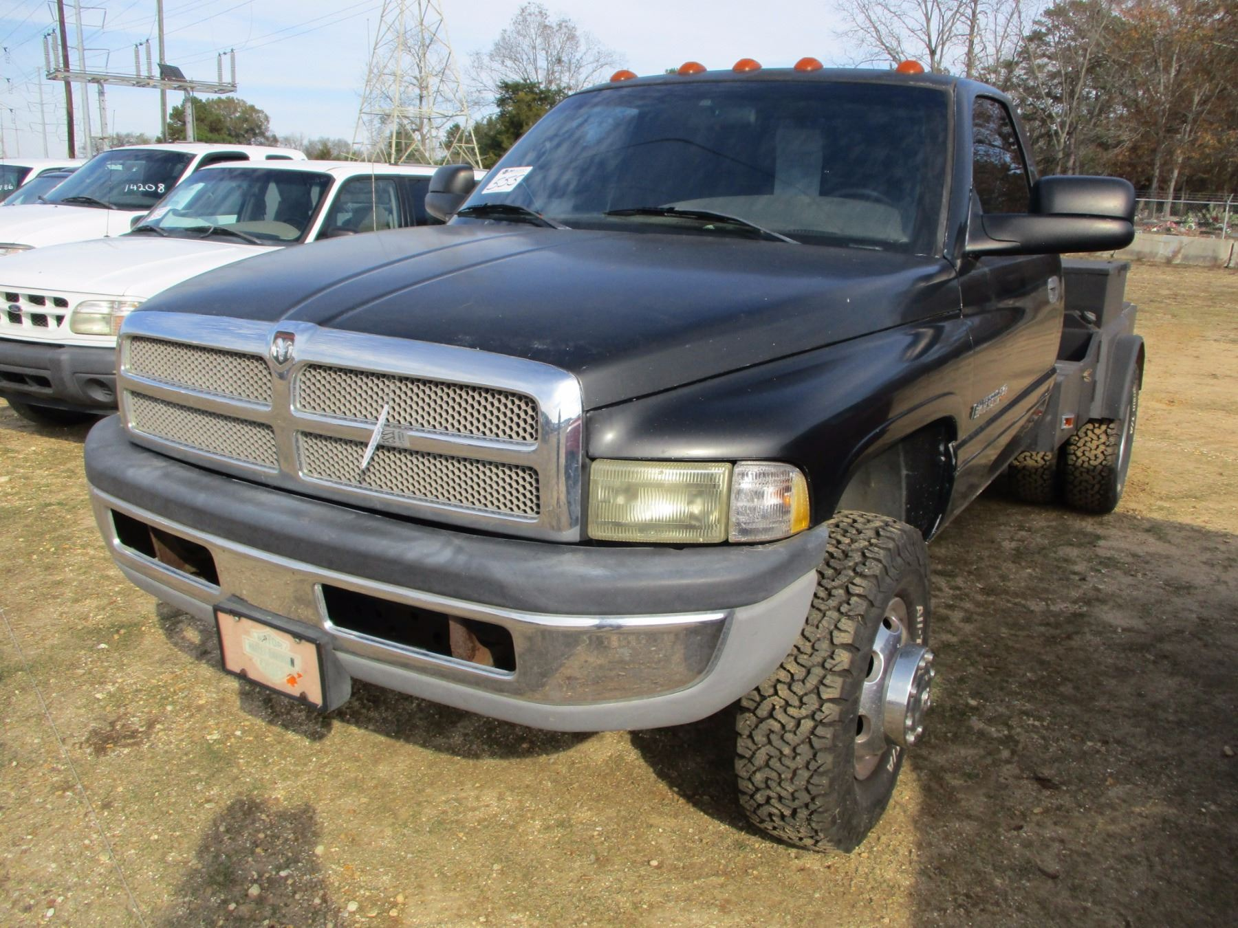 2001 Dodge Ram 3500 Dually Flatbed Truck Vin Sn 3b6mc36591m561197 V8 Magnum Gas Engine Auto Tran