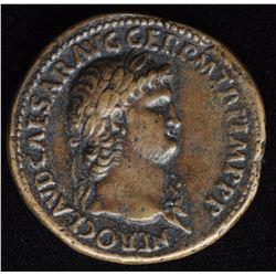 NERO (AD 54-68) Paduan (Renaissance Copy) after Cavino (c.1500-1570)