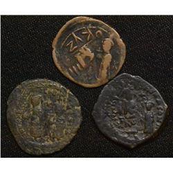 Heraclius, with Heraclius Constantine. 610-641 AD.