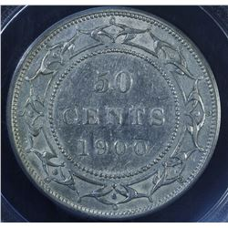 1900 Newfoundland Fifty Cents