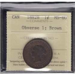 1882H One Cent