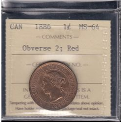 1886 One Cent
