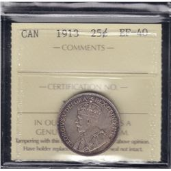 1913 Twenty-Five Cents