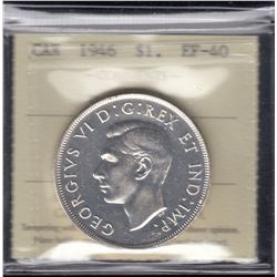 1946 Silver Dollar