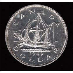 1949 Silver Dollar - Matthew Ship