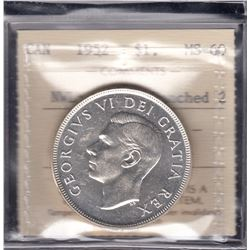 1952 Silver Dollar