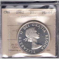 1962 Silver Dollar