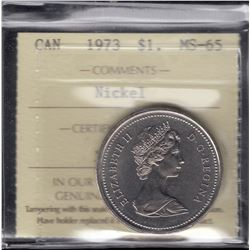 1973 Nickel Dollar