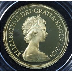 Great Britain Sovereign 1979 ELIZABETH Gem Proof gold