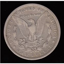 United States Morgan Silver Dollar, 1880