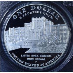 United States Silver Desegregation Silver Dollar, 2007-P