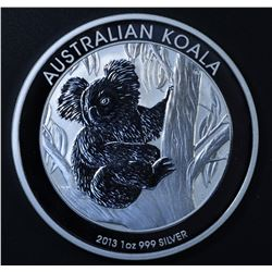 Perth Mint Australia $1 Koala 2013 1 oz .999 Silver Coin