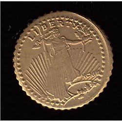 USA $20 Eagle 14kt Gold Mini Coin