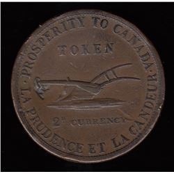 TOKENS OF UPPER CANADA, UC-3.