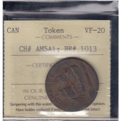 North American Token, 1781