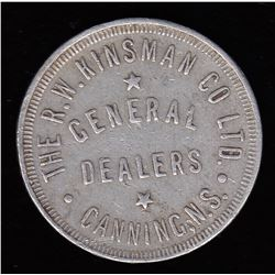 Nova Scotia Post Confederation Token.