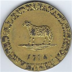 Great Britain Conder / Provincial Token