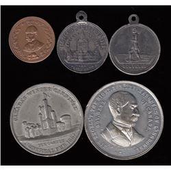 Leroux Medal Lot