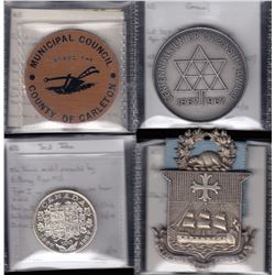 New Brunswick Medal & Token Lot