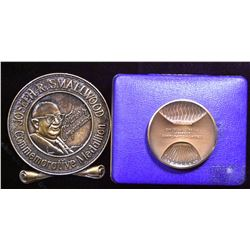 Joey Smallwood & Churchill Falls Safety Newfoundland & Labrador Medallions