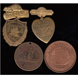 Exhibition Medal Lot