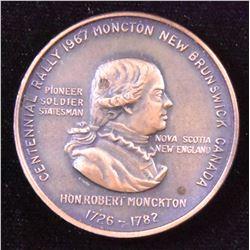 1967 Centennial APNA Moncton Medal in Box