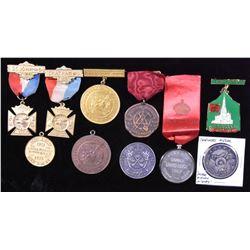 Fraternal Medal Lot