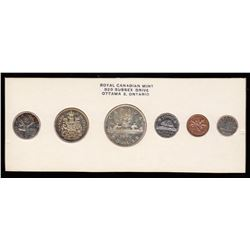 Royal Canadian Mint Proof Like Coin Set, 1960