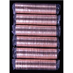 Canada 2012 1 Cent Special Mint Sealed Rolls