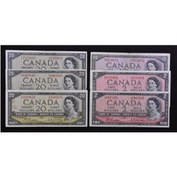 Bank of Canada Lot, 1954