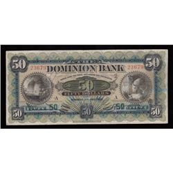 Dominion Bank $50, 1925