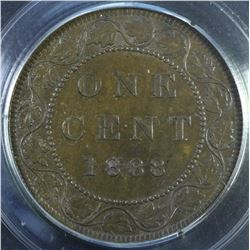 1888 One Cent - Lot of 2