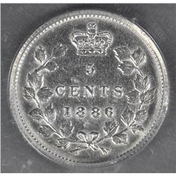 1886 Five Cents