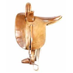 Early Antique Supple Leather Side Saddle