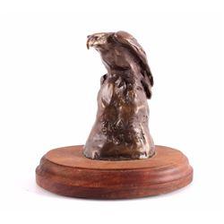 Eagle Sketch Bronze Sculpture by Bob Scriver