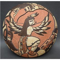 HOPI POTTERY SEED JAR (POLACCA)