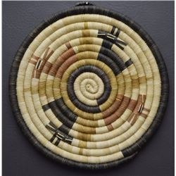 HOPI BASKETRY PLAQUE