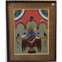 HOPI PAINTING (HUNTER)