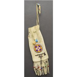 NAVAJO BEADED BAG