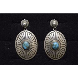 NAVAJO EARRINGS (YAZZIE)